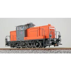 Esu 31429 - Diesellok, H0, BR V60, 360 608, orange-grau, Bocholter Ep. V, Vorbildzustand um 2003,LokSound,Raucherzeuger,Rangierkupplung,DC/AC