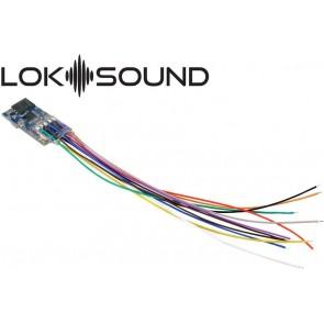 """Esu 58813 - LokSound 5 micro DCC/MM/SX/M4 """"Leerdecoder"""", Einzellitzen, Retail, mit Lautsprecher 11x15mm, Spurweite: N, TT, H0"""