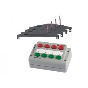 Piko 55392 - Weichen-Antriebs-Set (4x) + Stellpult