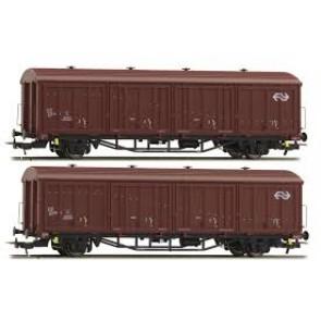 Hobby trade 33304 - 2-delige gesloten goederenwagenset NS