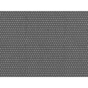 Noch 34224 - Kopfsteinpflasterplatz, 2 Stück, je 17 x 10,5 cm