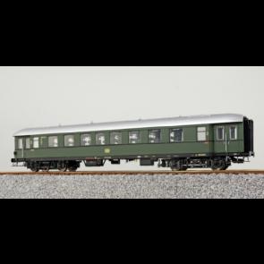 Esu 36147 - Eilzugwagen G37, DB, Ep III, AB4yse-37/55, 1./2. Klasse, 33593 Esn, Flaschengrün , Weißaluminium, DC