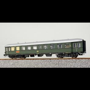 Esu 36148 - Eilzugwagen G36, DB, Ep III, BR4ye-36/50, Halbspeisewagen/2. Klasse, 74708 Ksl, Flaschengrün , Weißaluminium ,  DC