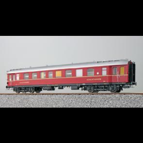 Esu 36150 - Eilzugwagen G36, DB, Ep III, C4ü P WL , Schlafwagen 3. Klasse, 19103, Rot, DC