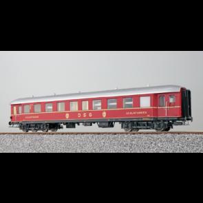 Esu 36151 - Eilzugwagen G36, DB, Ep III, , B4ü WL , Schlafwagen 2. Klasse, 19112, Rot, DC