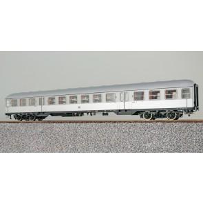 Esu 36462 - n-Wagen, H0, B4nb-59, 42786 Esn, 2. Kl., DB Ep. III, silber, Pfauenauge, Rahmen schwarz, Dach silber, DC