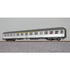 Esu 36468 - n-Wagen, H0, ABnb703, 31-11 503-5, 1./2. Kl., DB Ep. IV, silber, Pfauenauge, Rahmen schwarz, Dach umbragrau, DC