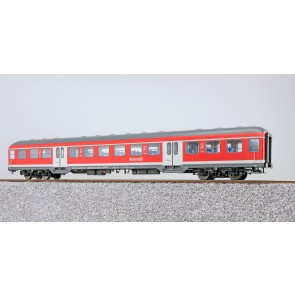 Esu 36472 - n-Wagen, H0, Bnrz451.4,  22-34 128-5, 2. Kl., DB Ep. VI, verkehrsrot, DC