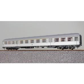 Esu 36501 - n-Wagen, H0, AB4nb-59, 31477 Esn, 1./2. Kl., DB Ep. III, silber, Pfauenauge, Rahmen schwarz, Dach silber, DC