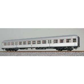 Esu 36518 - n-Wagen, H0, B4nb-59, 42725 Esn, 2. Kl, DB Ep. III, silber, Pfauenauge, Rahmen schwarz, Dach silber, DC