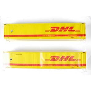 Graham Farish 379 373 - 2 Delige containerset DHL (N-schaal)