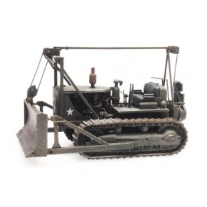 Artitec 387.338 - US army bulldozer d7 WW II  ready 1:87