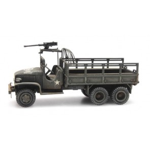 Artitec 387.345 - US GMC 353 open cab cargo/1machine gun  ready 1:87