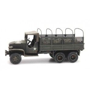Artitec 387.346 - US GMC 353 open cab cargo/2 with load  ready 1:87