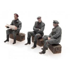 Artitec 387.357 - WW I Uitrustende Duitse soldaten 3 Fig.  ready 1:87