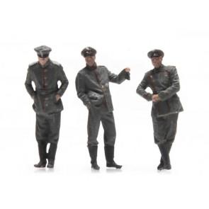 Artitec 387.358 - WW I Duitse officieren 3 Fig.  ready 1:87