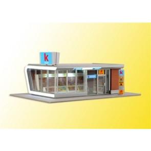 Kibri 39008 - H0 Kiosk inkl. LED-Bel.