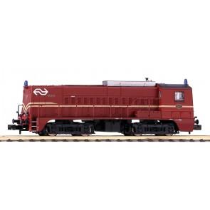 Piko 40443 - N-Dieselloc NS 2271 roodbruin IV + DSS PluX12