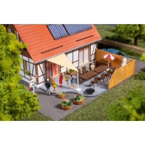 Auhagen 41650 - Terrassenausstattung