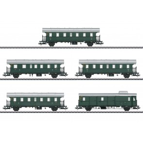Marklin 43141 - Donnerbüchsen-Set, 5 Wagen, DB, Ep. IIIa (voor insider leden)