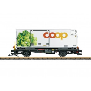 Lgb 45899 - Containerwagen Coop RhB