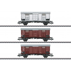 Marklin 47870 - Spitzdachwagen-Set zur BR 92 NOG 4 RESERVEERBAAR!