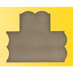 Vollmer 48243 - H0 Straßenplatte Kopfstein