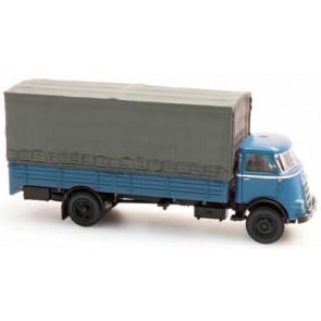 Artitec 487.041.01 - DAF Vrachtwagen bak + huif, cab'59, bl