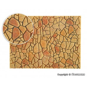 Vollmer 48727 - 0 Polygonalplatte, mediterran