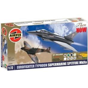 Airfix 50040 - Eurofighter Typhoon Supermarine Spitfire MkIIa OP=OP!
