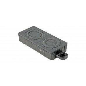 Esu 50344 - Lautsprecher  24mm x 55mm x 8.6mm, rechteckig, 8 Ohm, Bassreflex