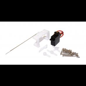 Esu 51805 - Servoantrieb, Präzisions-Miniaturservo, Metallgetriebe, mit Microcontroller, 30cm Kabelbaum, Befestigungsmaterial, RETAIL