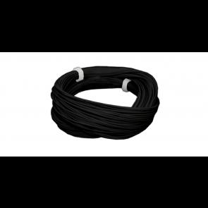 Esu 51942 - Hochflexibles Kabel, Durchmesser 0.5mm, AWG36, 2A, 10m Wickel, Farbe schwarz