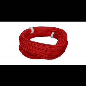 Esu 51943 - Hochflexibles Kabel, Durchmesser 0.5mm, AWG36, 2A, 10m Wickel, Farbe rot