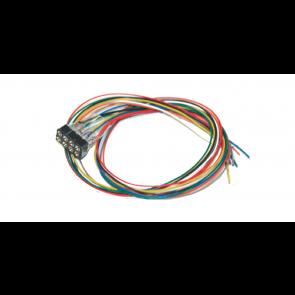 Esu 51950 - Kabelsatz mit 8-poliger Buchse nach NEM 652, DCC Kabelfarben, 30cm Länge