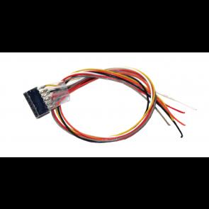 Esu 51951 - Kabelsatz mit 6-poliger Buchse nach NEM 651, DCC Kabelfarben, 30cm Länge