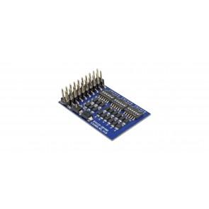 Esu 51956 - Blindstecker für Adapterplatine für LokSound L mit Stiftleisten, Universal, Retail