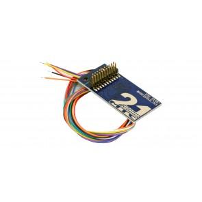 Esu 51957 - Adapterplatine 21MTC für 8 verstärkte Ausgänge, Lötkontakten und angelöteten Kabeln