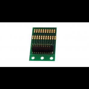 Esu 51967 - Adapterlokplatine für die Verwendung mit LokSound V3.5/V4.0,  LokPilot V3.0/V4.0 mit 21MTC-Schnittstelle