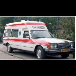 Busch 522001 - Mercedes-Benz VF123 Miesen Ambulance Holland