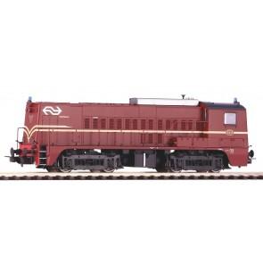 Piko 52686 - Dieselloc NS-2218 roodbruin IV + DSS PluX22 OP=OP!