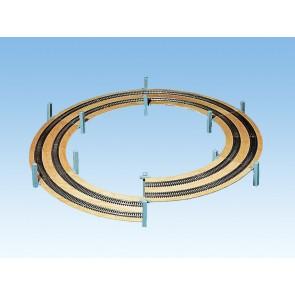 Noch 53126 - LAGGIES Gleiswendel-Komplettbausatz, Aufbaukreis,