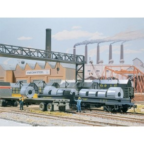 Walthers 531499 - STAAL LADING H0