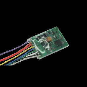 Esu 53611 - LokPilot Standard DCC, 8-pol. Stecker NEM652, Kabelbaum, 4 verstärkte Ausgänge + 0 Logikausgänge