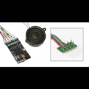 """Esu 54400 - LokSound V4.0 """"Universalgeräusch zum Selbstprogrammieren"""", 8-pol NEM652, Spurweite: 0, H0"""