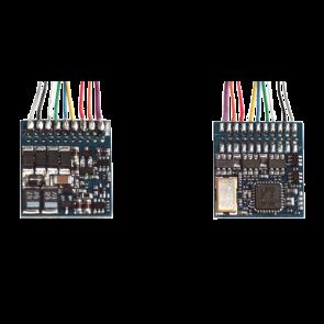 Esu 54620 - LokPilot Fx V4.0, Funktionsdecoder MM/DCC/SX, 8-pol. Stecker NEM652, Kabelbaum