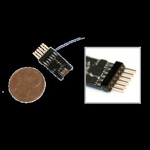 Esu 54685 - LokPilot micro V4.0, DCC Decoder, mit 6-poligem Stecker NEM 651 Direktverbindung