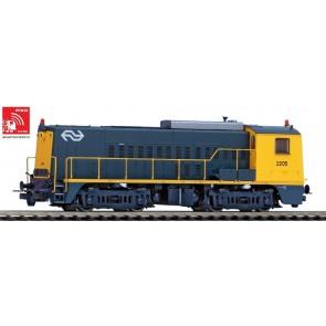 Piko 55902 - Diesellok/Sound Rh 2200 NS gelb-grau IV + PluX22 Dec.