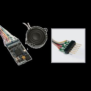 """Esu 56499 - LokSound V4.0 """"Universalgeräusch zum Selbstprogrammieren"""", 6-pin NEM651, Spurweite: 0, H0"""