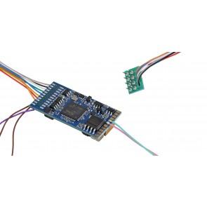 """Esu 58410 - LokSound 5 DCC/MM/SX/M4 """"Leerdecoder"""", 8-pin NEM652, Retail, mit Lautsprecher 11x15mm, Spurweite: 0, H0"""
